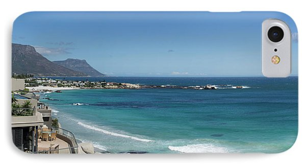 View Of Clifton Beach, Cape Town IPhone Case by Panoramic Images