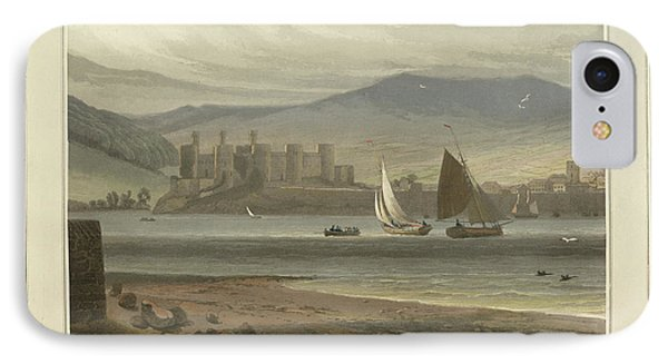 View Of Conwy Castle In Caernarvonshire IPhone Case by British Library