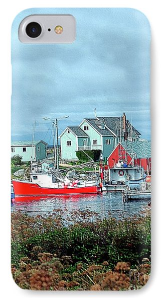 View Of Cove Phone Case by Kathleen Struckle