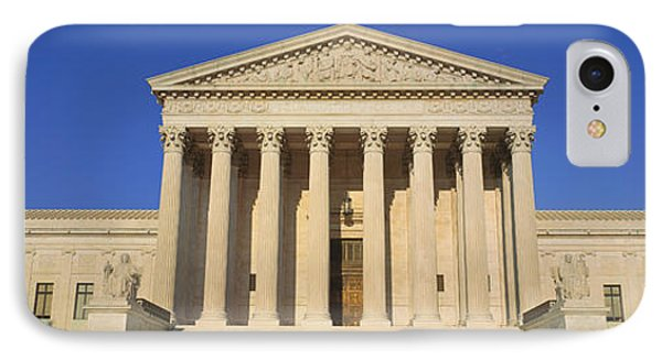 View Of Entire Us Supreme Court IPhone Case by Panoramic Images