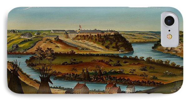 View Of Fort Snelling Phone Case by Edward K Thomas