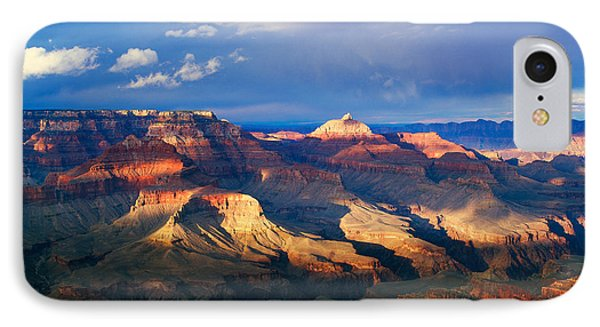 View Of Grand Canyon From Shoshone IPhone Case by Panoramic Images