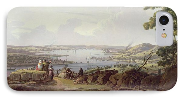 View Of Greenock, Scotland IPhone Case by Robert Salmon