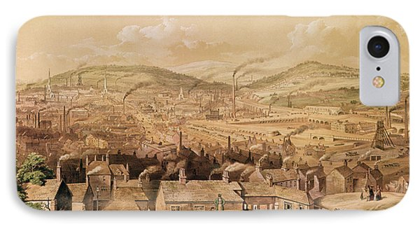 View Of Industrial Sheffield IPhone Case