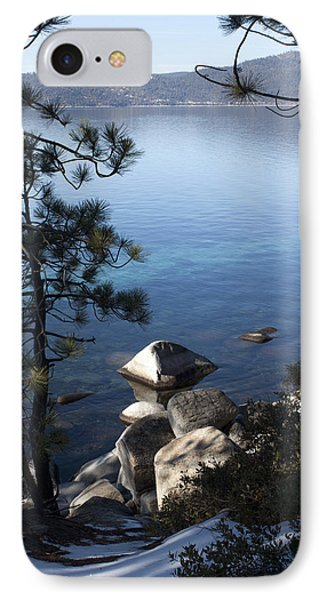 View Of Lake Tahoe IPhone Case by Ivete Basso Photography