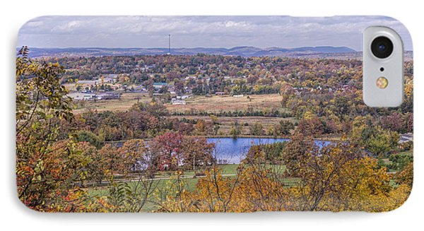 View Of Mountain View Arkansas IPhone Case by Bonnie Barry