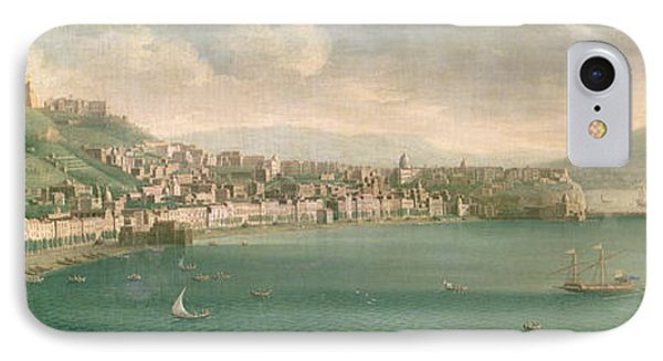 View Of Naples From The West, 1730 IPhone Case
