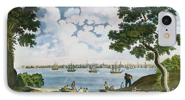 View Of New York 1801 Phone Case by Granger