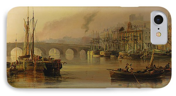View Of Newcastle From The River Tyne IPhone Case