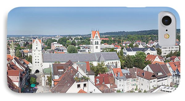 View Of Old Town With Liebfrauenkirche IPhone Case by Panoramic Images