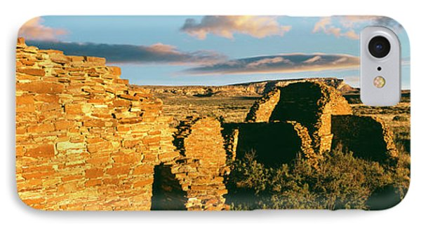 View Of Ruins Of Hungo Pavi, Chaco IPhone Case