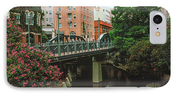 View Of San Antonio River Walk, San IPhone Case by Panoramic Images