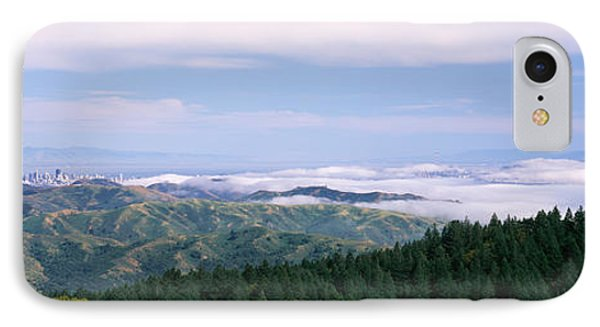 View Of San Francisco From Mt IPhone Case by Panoramic Images