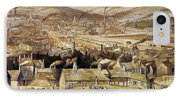 View Of Sheffield England Phone Case by Granger