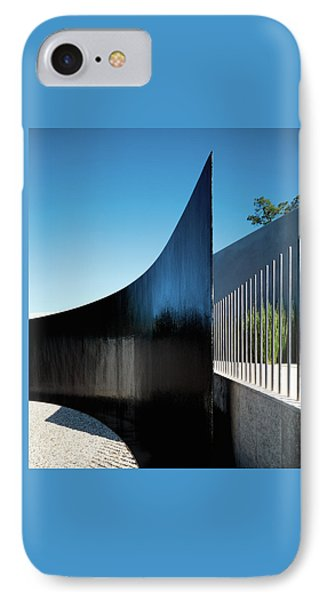 View Of Surrounding Wall IPhone Case by Erhard Pfeiffer