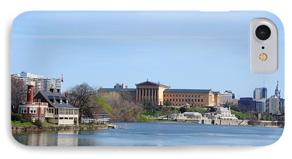 View Of The Art Museum And Waterworks In Philadelphia Phone Case by Bill Cannon
