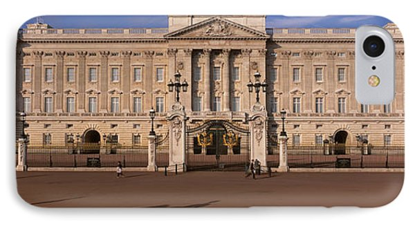 View Of The Buckingham Palace, London IPhone Case by Panoramic Images
