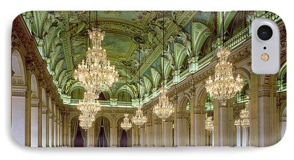 View Of The Grande Salle Des Fetes IPhone Case