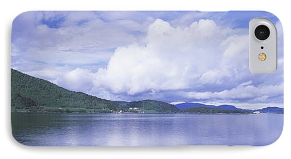 View Of The Kvernesfjorden IPhone Case