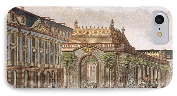 View Of The Place De Louis Le Grand IPhone Case