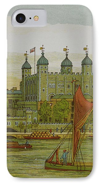 View Of The Tower Of London IPhone Case by British Library