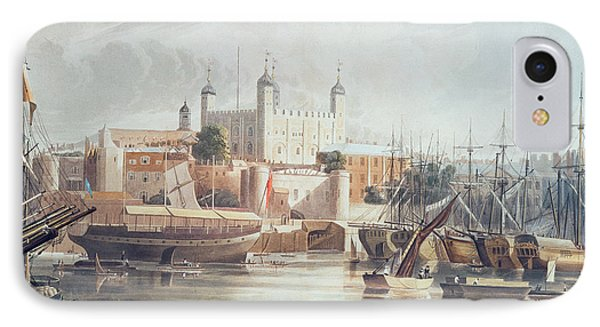 View Of The Tower Of London IPhone 7 Case by John Gendall