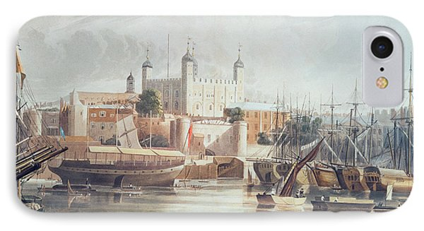 View Of The Tower Of London IPhone Case by John Gendall