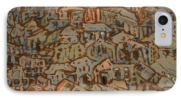 View Of The Town Phone Case by Oscar Penalber
