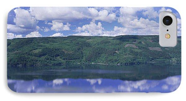 View Of Tyrifjorden, Honefoss, Norway IPhone Case