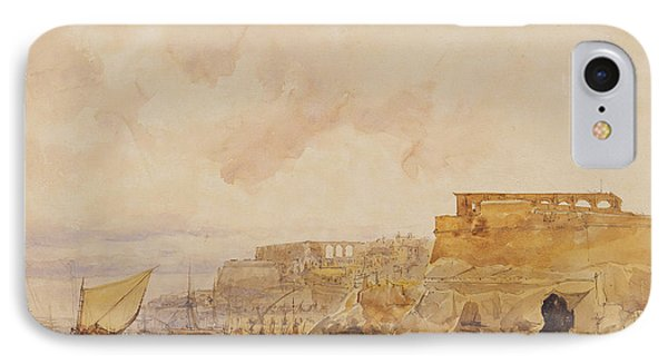View Of Valetta IPhone Case by James Holland