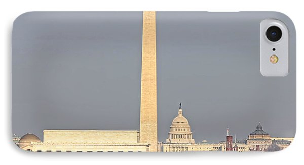View Of Washington Dc From Arlington 1169 IPhone Case