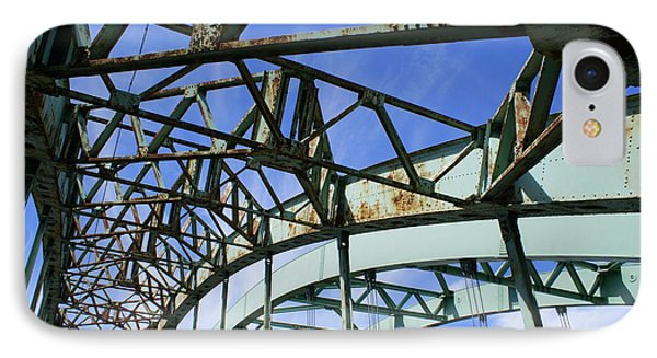 IPhone Case featuring the photograph View Through The Bridge by Lois Lepisto
