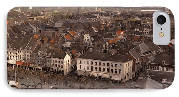 View To The East In Maastricht Phone Case by Nop Briex
