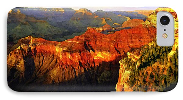 View - Yavapai Point Phone Case by Bob and Nadine Johnston