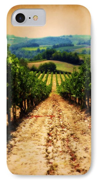 Vigneto Toscana IPhone Case by Micki Findlay