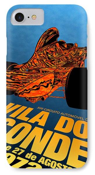 Vila Do Conde Portugal 1972 Grand Prix IPhone Case by Georgia Fowler