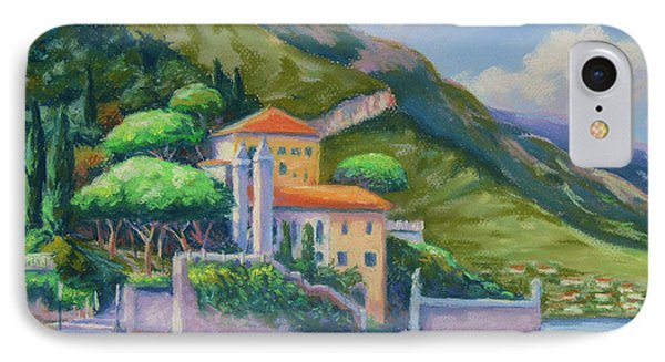 Villa Balbianello Lake Como IPhone Case