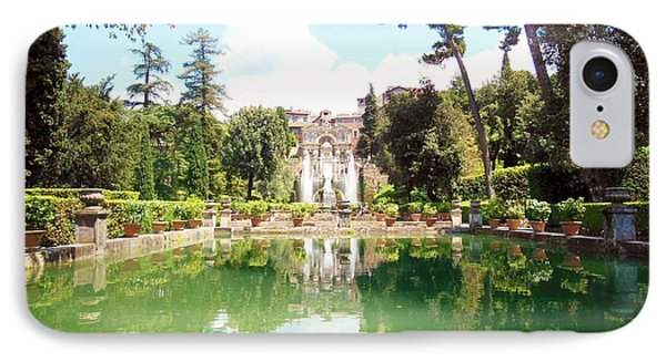 Villa Este Reflections IPhone Case