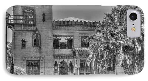 Villa Zorayda Bw 2 IPhone Case
