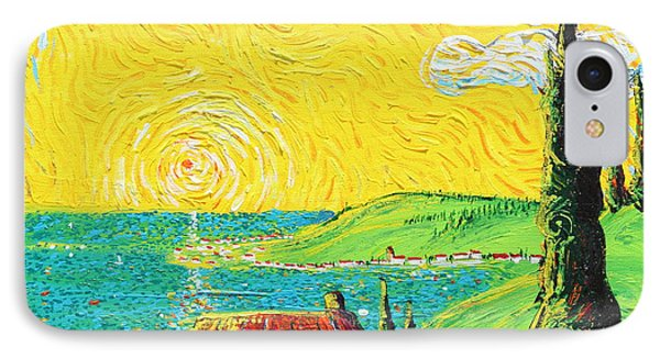 Village By The Sea Phone Case by Stefan Duncan