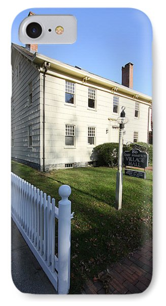 Village Hall East Hampton New York IPhone Case