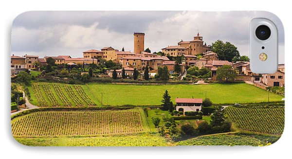 Village In French Countryside IPhone Case