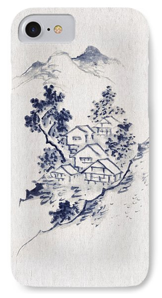 Village In The Mountains Phone Case by Aged Pixel