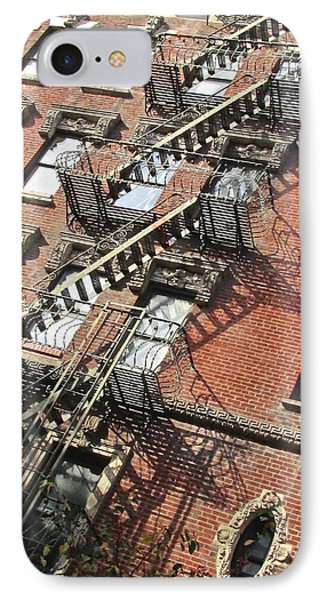 Village Ladders IPhone Case by Steven Lapkin