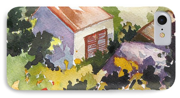 IPhone Case featuring the painting Village Life 2 by Rae Andrews