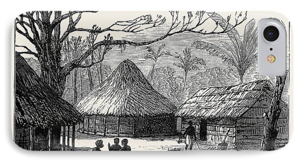 Village Of Beho Beho East Central Africa Where Mr IPhone Case