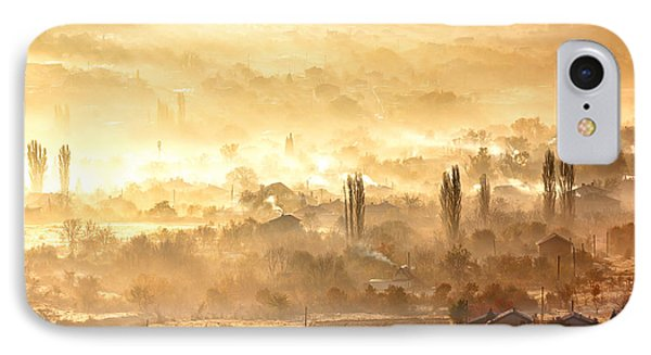 Village Of Gold Phone Case by Evgeni Dinev