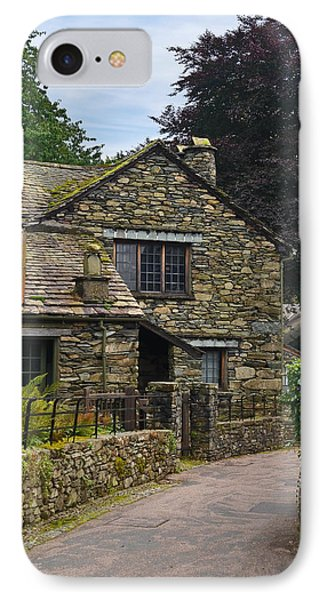 IPhone Case featuring the photograph Village Street Grasmere by Jane McIlroy