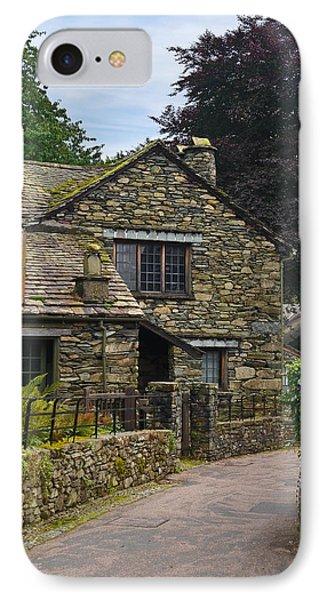 Village Street Grasmere IPhone Case by Jane McIlroy