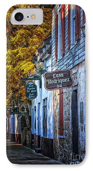 Village Streets IPhone Case
